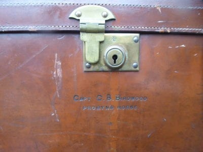 Capt. Christopher B Birdwood, Probyn's Horse: a small leather case