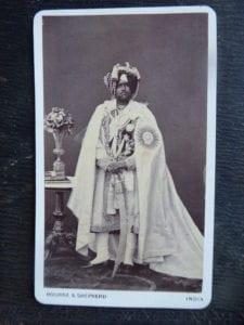 PATIALA. Maharaja Sir Mohinder Singh, GCSI, [1852-76]