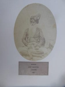 Akalee, Sikh Devotee. An original photograph from The People of India, 1868-76