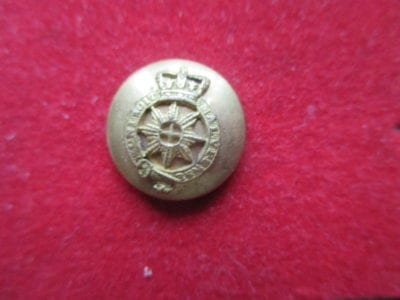 Windsor Court Dress mounted button of the Victorian era