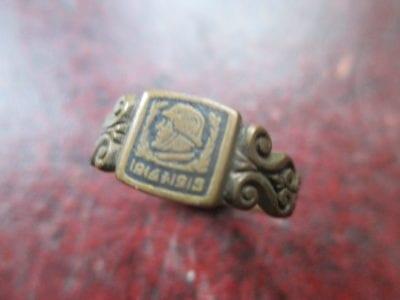 First World War. A humble brass German military souvenir ring 1914-19