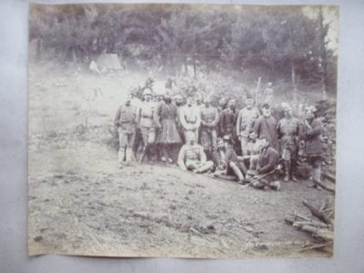 The Black Mountain Campaign of 1888. Commander of the Hazara Field Force with his Staff