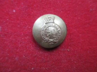 Govt of India, button worn by Officers in civil employ and by Political Officers of the Bombay Presidency.