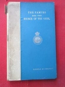 Hon George N Curzon, an important signed copy of his work on the Pamirs 1896