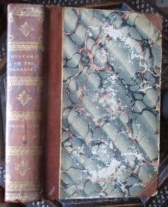 History of the Mahrattas. Vol 1 of Duff's book of 1826