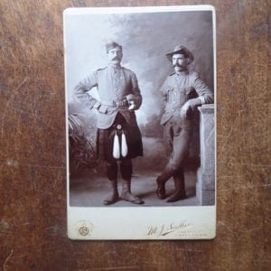 A Cameron Highlander and another photographed in Cape Town circa 1902