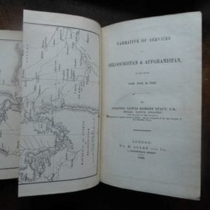 Beluchistan & Afghanistan. Scarce account of the campaign of 1840-1842