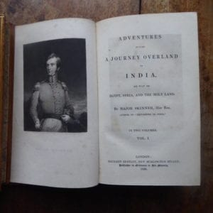 An 1836 account of the overland journey to India by a military officer of the 31st Regiment