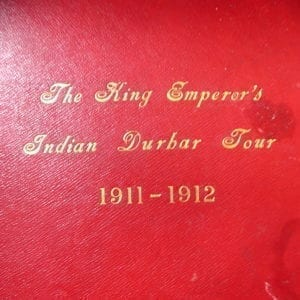 Delhi Durbar 1911 & the Imperial Tour of India. A fine and large album of photographs