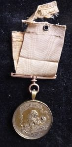 Senior officer's silver gilt Seringapatam Medal 1808