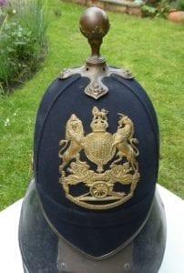 Officer's home pattern helmet of the Royal Artillery, post 1901