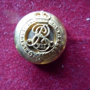 Mounted 20mm button as worn by an ADC to the King Emperor - Edward VII