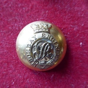 Bombay Engineers. An officer's fine gilt button the Victorian period
