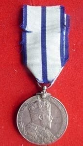 Durbar 1903, an excellent example of the silver medal for this event.