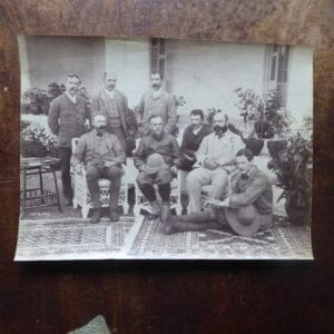 The Earl of Elgin, Viceroy 1894-1899, with his staff