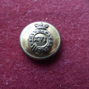 16th Madras Native Infantry, officer's 16mm button