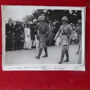 Simla, 1938 King;s Birthday Parade