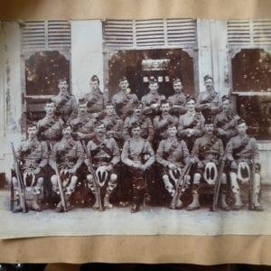 Seaforth highlanders in Agra 1913