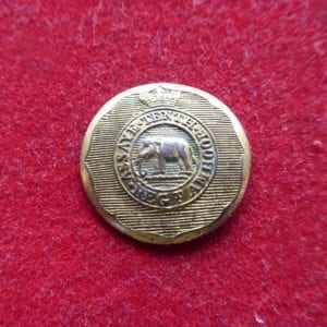 Madras. 10th Native Infantry officer's gilt button