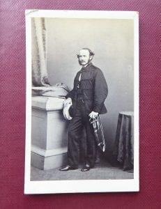Major John William Younghusband, late 8th Bombay N I, a very good cdv circa early 1860s