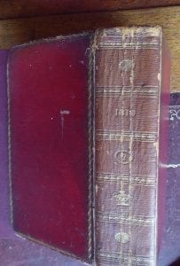 East India Register for 1810, bound with Stockdale's Peerage and Baronetage with their arms illustrated.