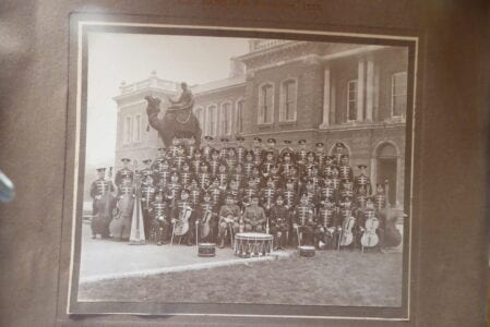 Royal Engineers Band at Woolwich, 5th December 1916