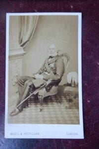 Lt Gen Sir Richard Airey K.C.B. [1803 -1881]. A good c d v