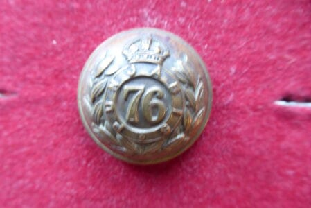 76th Punjabis, officer's 26mm large button