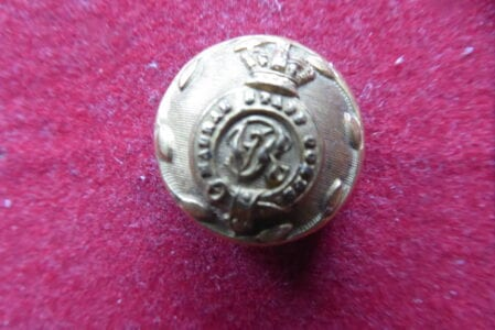 Madras Staff Corps, officer's 20pp button