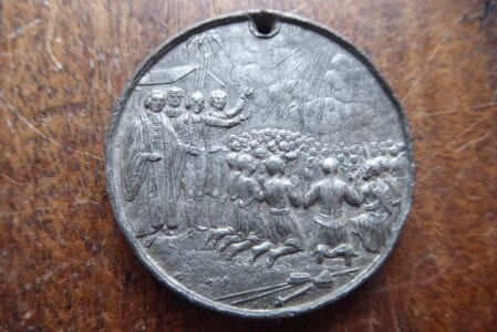 London Missionary Society, commemorative medal dated 1844