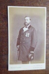 Major Robert Sandeman 1876 [later Sir Robert, KCSI]