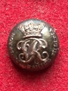 Royal Wiltshire Militia, Victorian officer's button 24mm